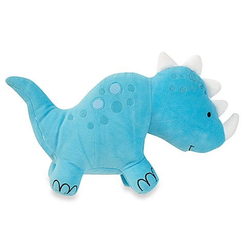 Kas Kids Dino Stegosaurus Toss Pillow