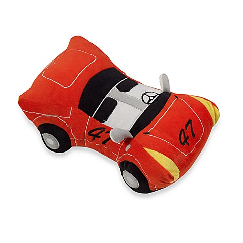 Kas Kids Raceway Car Toss Pillow