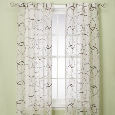 Orbitz Sheer Window Panel