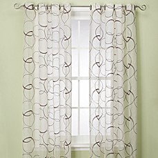 Orbitz Sheer Window Panels