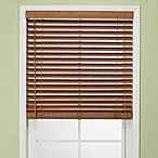 Flat Bamboo Window Blind in Pecan