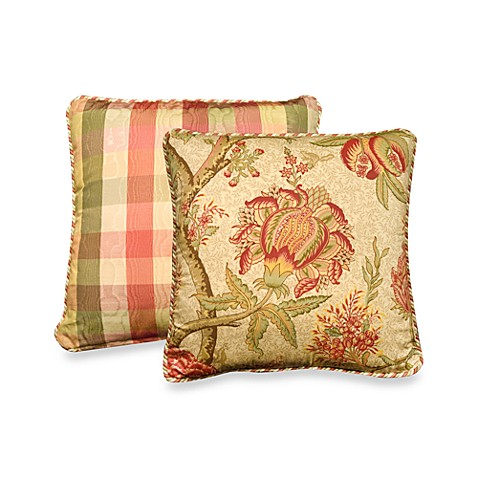 Rose Tree Summerton 18-Inch Square Toss Pillow