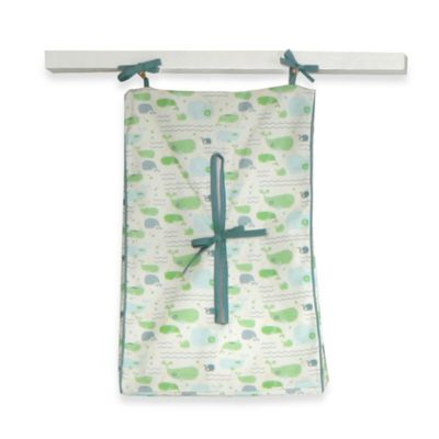 Bananafish® Little Whales Diaper Stacker