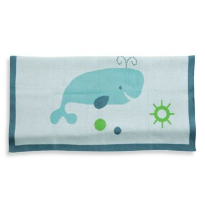 Bananafish® Little Whales Blanket