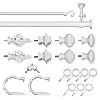 ReSolutions Satin White Decorative Window Hardware