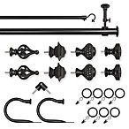 ReSolutions Satin Black Decorative Window Hardware