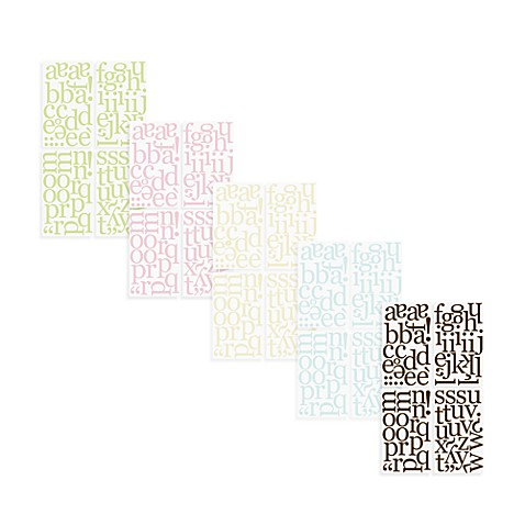 Wall Decor > WallPops!® Wall Decals in Alphabet Letters