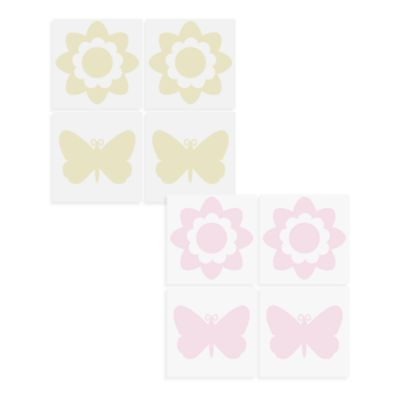 WallPops!® Wall Decals in Flowers and Butterflies