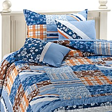 Shoreline Quilt Set, 100% Cotton