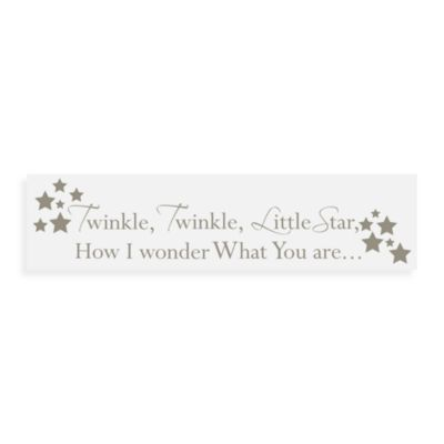 WallPops!® Wall Decals in Nursery Rhymes in Twinkle, Twinkle