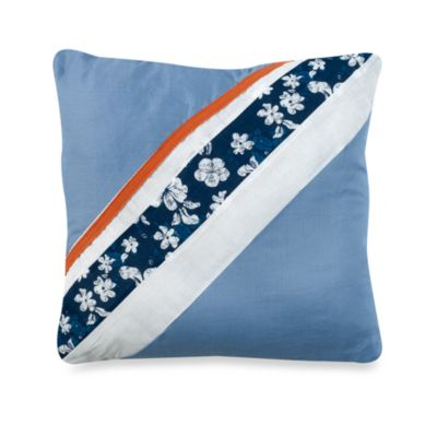 ShoreLine 16-Inch Square Toss Pillow