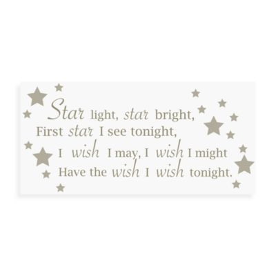 WallPops!® Wall Decals in Wall Wishes in Star Light Star Bright