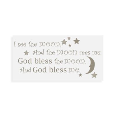 "WallPops!® ""I See the Moon"" Wall Decals Wall Wishes"