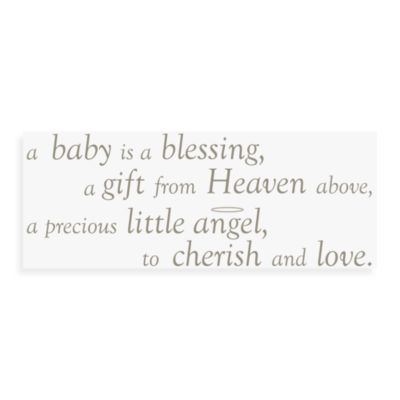 WallPops!® Wall Decals in Wall Wishes in A Baby is a Blessing