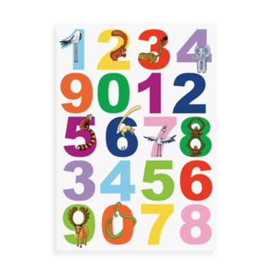 Wall Decor > WallPops!® Wall Decals in Wall Art Kit in Numbers