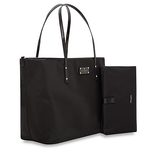 kate spade new york black harmony diaper bag buybuy baby. Black Bedroom Furniture Sets. Home Design Ideas