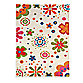 Dynamic Rugs Fantasia 3-Foot x 5-Foot Rug in Floral with Beige Background