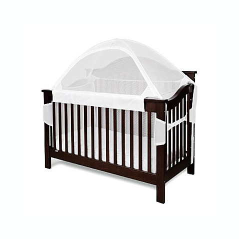 Crib tent for convertible cribs white buybuy baby for White canopy crib