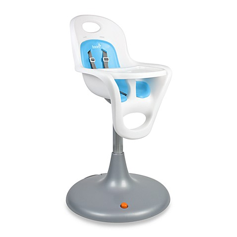 Boon Flair Pneumatic Pedestal High Chair in Blue