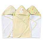 Spasilk Hooded Towels (Pack of 3) - Duck