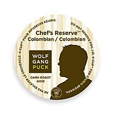 K-Cup® 18-Count Wolfgang Puck® Chef's Reserve Colombian Dark Roast Coffee for Keurig®