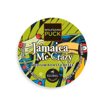 K-Cup® 18-Count Wolfgang Puck® Jamaica Me Crazy™ Coffee for Keurig® Brewers