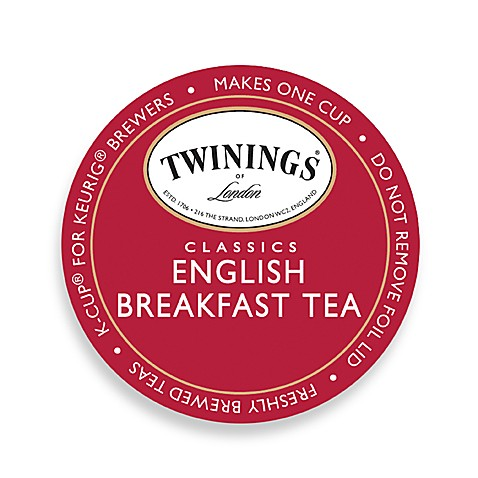 K-Cup® 18-Count Twinings® Classics English Breakfast Tea for Keurig® Brewers