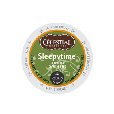 K-Cup® 18-Count Celestial Seasonings® Sleepytime® Caffeine Free Herbal Tea for Keurig