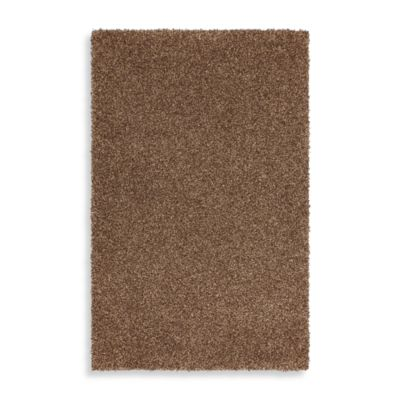 Mohawk Home Kodiak 5-Foot x 8-Foot Shag Rug in Hazel Gold