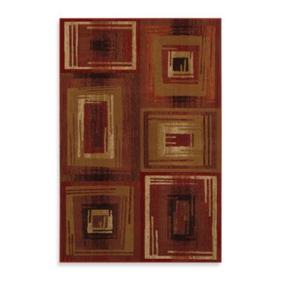 Mohawk Home Select Pinnacle Vibrations Red Rug