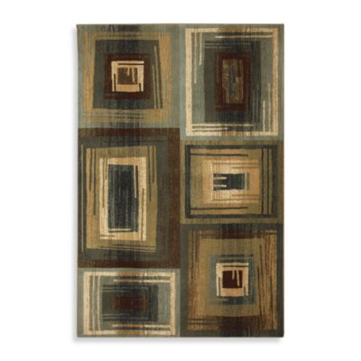 Mohawk Home Select Cambridge Vibrations Rug in Blue