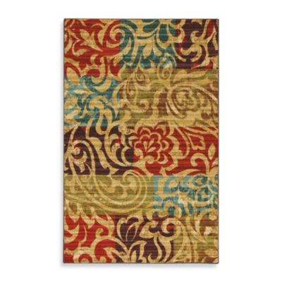 Mohawk Home Select Canvas Bangkok Rectangle Rug