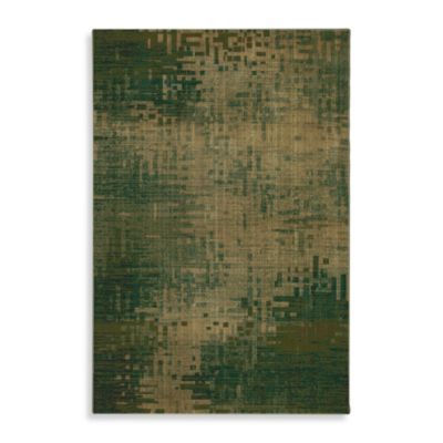 Mohawk Home Select Kaleidoscope Inferno Rug in Green