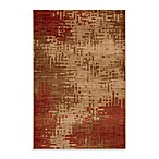 Mohawk Home Select Kaleidoscope Inferno Rug in Red