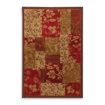 Mohawk Home Select Kaleidoscope Patchwork Brocade 8-Foot x 11-Foot Rug