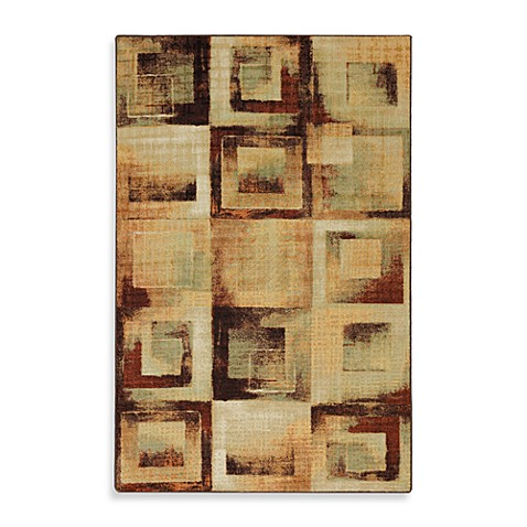 Mohawk Home Select Linen Mobile Blocks 5-Foot x 8-Foot Rectangle Rug