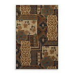 Mohawk Home Select Versailles Royal Entrance Rug in Blue