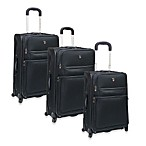 TCL Spinner Upright Luggage - Black