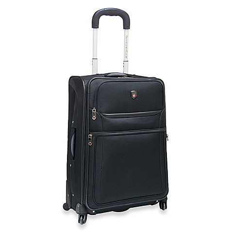 Upright Spinnerby TCL20-Inch Carry-On Bag in Black