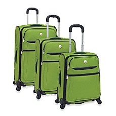 TCL Spinner Upright Luggage - Green