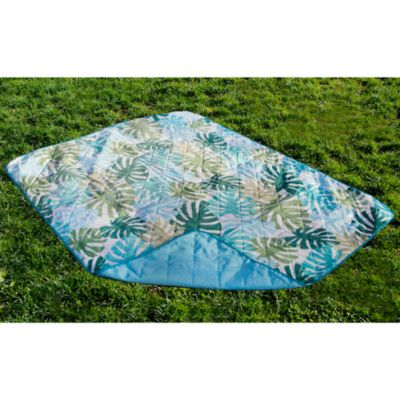 Palm Tree Indoor/Outdoor Travel Blanket