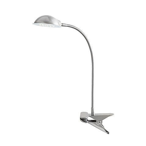 Buy Studio 3b Brushed Steel 24 Led Clip Lamp From Bed