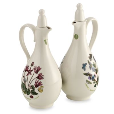 Portmeirion® Botanic Garden 8-Inch Oil & Vinegar Set