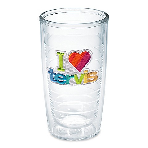 Tervis 16-Ounce I Love Tervis Tumbler