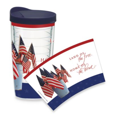 Tervis® Land of the Free 16-Ounce Wrap Tumbler