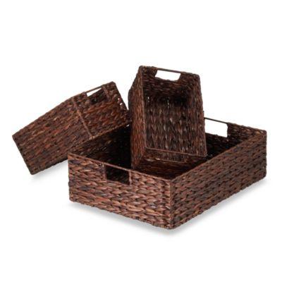 Rush Baskets (Set of 3)
