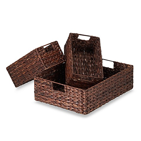 Rush Baskets (Set of 3)