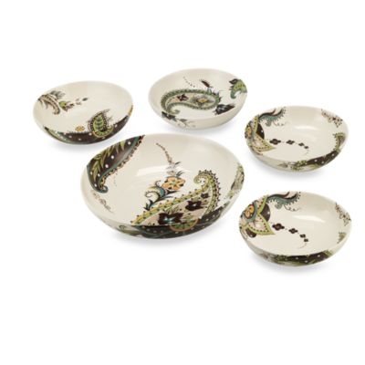 Tabletops Unlimited™ Angela 5-Piece Pasta Bowl Set