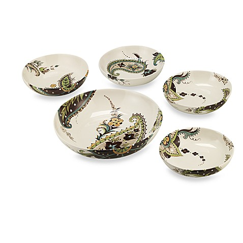 Tabletops Unlimited® Angela 5-Piece Pasta Bowl Set