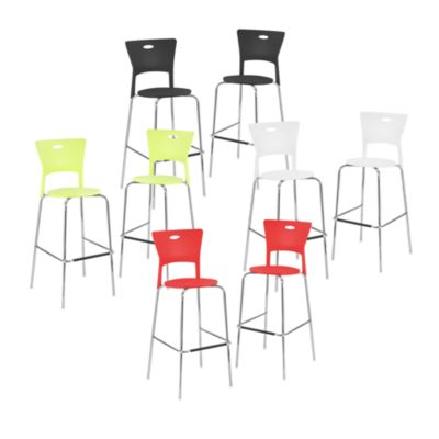Mimi Stackable Bar Stool (Set of 2)